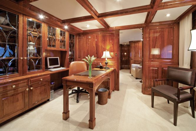 master suite office - study