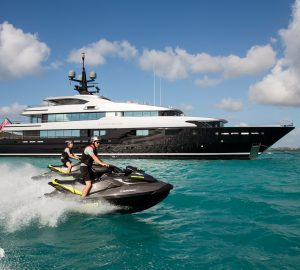 Special offer: Up to 20% discount aboard M/Y Slipstream on Caribbean and Bahamas charters