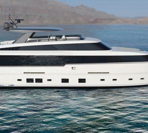 Van der Valk shipyard unveils 32m pilothouse yacht concept