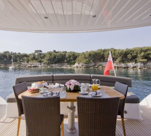 Special offer: Reduced spring prices on luxury charter yacht SAMAKANDA in the Balearic Islands