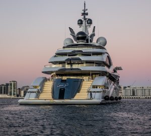 In Pictures: Mega yacht Al Lusail