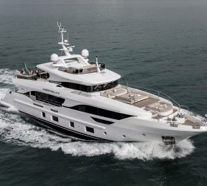 Successful delivery of M/Y Christella II, the first hull in the Delfino 95' series