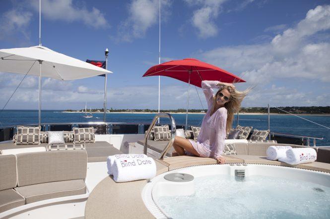 Enjoying a holiday aboard Ocean Club