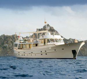 Classic Feadship M/Y Monara ready for Western Mediterranean charters
