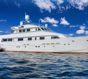 Charter modern luxury yacht Lionshare in the Caribbean at MAD rates