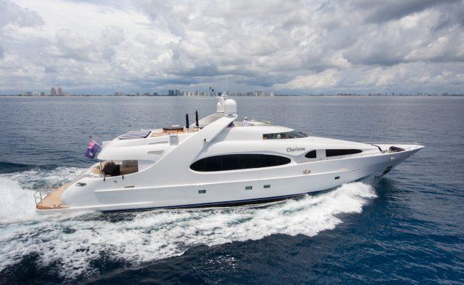Luxury yacht CHARISMA