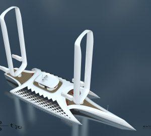 Innovative Yachts: 70m Trimaran Concept Wind Motion 70T
