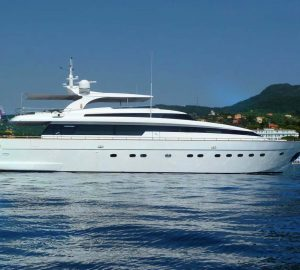 Charter family superyacht SUD in the Western Mediterranean