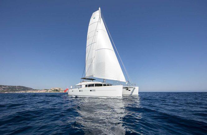 TWIN luxury catamaran yacht