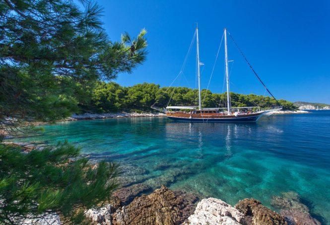 Yacht STELLA MARIS in Croatia