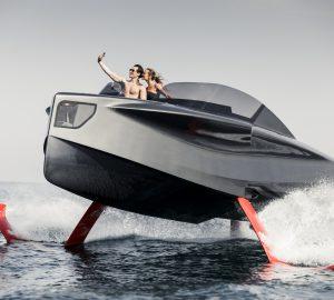 Flying superyachts: Enata Marine unveils FOILER
