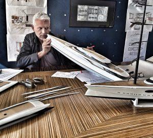 Nuvolari & Lenard issue design statement on 106m mega yacht Black Pearl