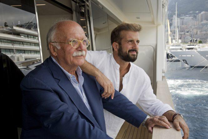 Gianni and Bernardo Zuccon - Photo credit Justin Ratcliff