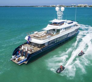 Charter motor yacht Ice 5 in the Bahamas and New England