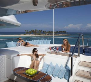 Charter breath-taking luxury yacht Lady S to events in the Western Mediterranean