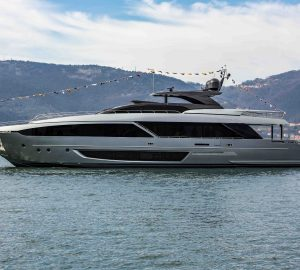 Riva Yachts launched the first Riva 110 Dolcevita motor yacht