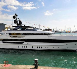 Superyacht 52Steel Hull #2 Launched and named KD