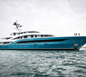 Turquoise launched its largest yacht 77m superyacht GO