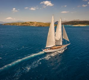 Offers considered for charters aboard S/Y Zanziba in the Eastern Mediterranean