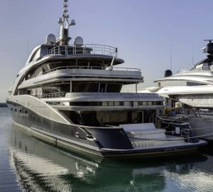 71m Superyacht Victoria launched at AES Yachts