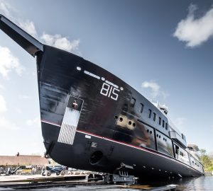 Superyacht SHERPA Hull 815 launched at Feadship