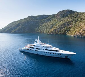 Hurry! Only 2 days left for this Last-Minute Charter Special aboard 72m Mega Yacht AXIOMA