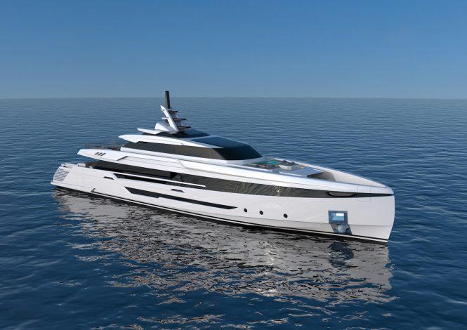 Columbus S 50m Superyacht sold by Palumbo