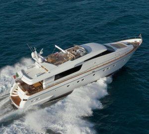 Sardinia Charter Specials for 25m Sanlorenzo motor yacht FORTUNA