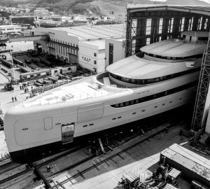 In pictures: 88.5m Superyacht Illusion Plus before launch