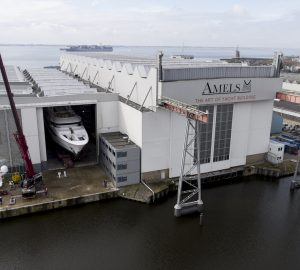 New 55m AMELS Limited Editions 180 superyacht launched