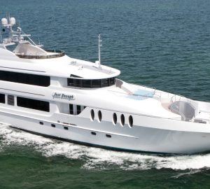 43m Superyacht JUST ENOUGH: Special Last-Minute Charter Rate for Memorial Day