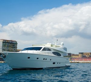 Naples and Tropea yacht charter special for PAMPERO