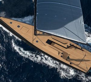 Sailing Yacht Nahita hit the water at Wally Yachts