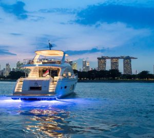 Singapore Yacht Show underway at ONE˚15 Marina Sentosa Cove