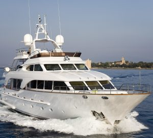 30m SALU offers '9 days for the price of 7' yacht charter special