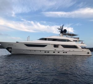 Special Rates for 37m Sanlorenzo charter yacht AWOL in the Mediterranean