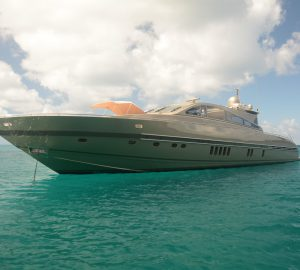 Special Caribbean offer for charters aboard 27m motor yacht TENDER TO
