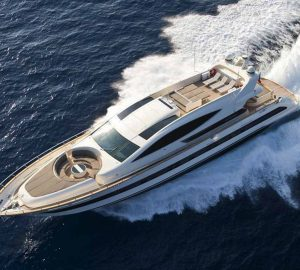 32m TOBY offering discounted luxury yacht charter rate in the Mediterranean
