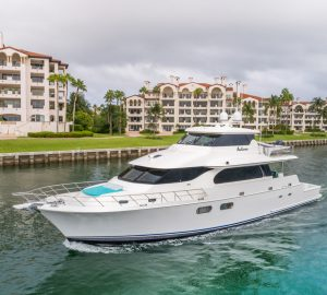 Bahamas and Florida charter special for 26m motor yacht ANDIAMO