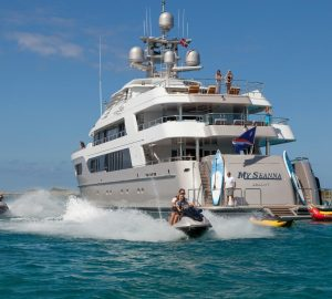 Discounted Rate for 56m Charter Yacht SEANNA in June