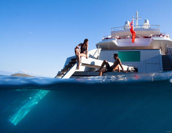 great beach club - loving the superyacht lifestyle