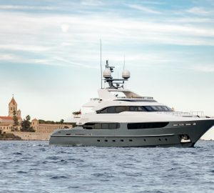 New to Yacht Charter: 41m LEGENDA now available in the Mediterranean