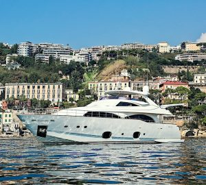 29m ANNE MARIE by Ferretti offering special rate for Amalfi Coast Charters