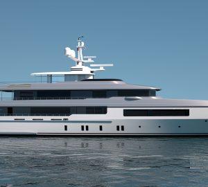 Codecasa to build new 55 metre superyacht, Hull C123
