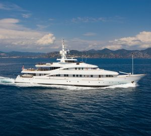 Charter Deal for 55m superyacht INSIGNIA cruising the Ionian Islands