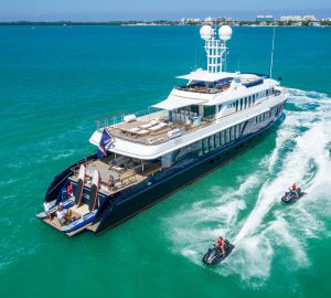 Early summer special for 42m ICE 5 superyacht in the Bahamas