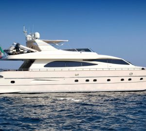No Delivery Fees for 26m motor yacht MALO' between Sardinia and Naples