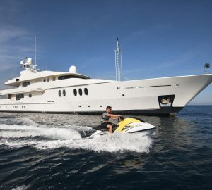 50m Amels superyacht MARLA charter special in Greece