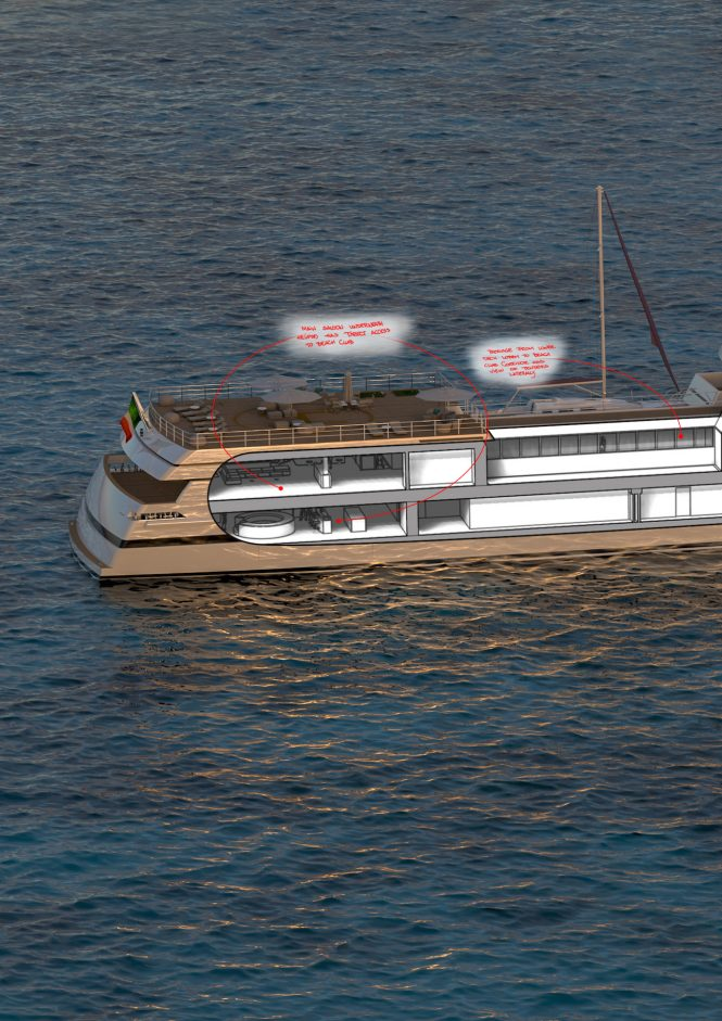 Tommaso Spadolini reveals layout and interiors of new 85m Rosetti