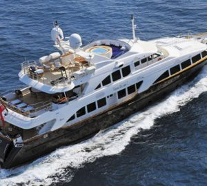 Reduced rate for 36m superyacht Benetti SEABLUE'Z from Naples